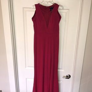 Red evening gown/prom dress